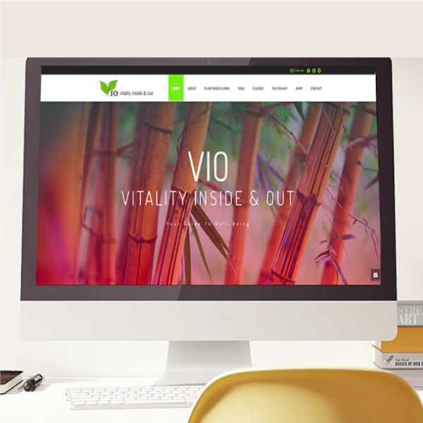 Vio Vitality Health Coach Website