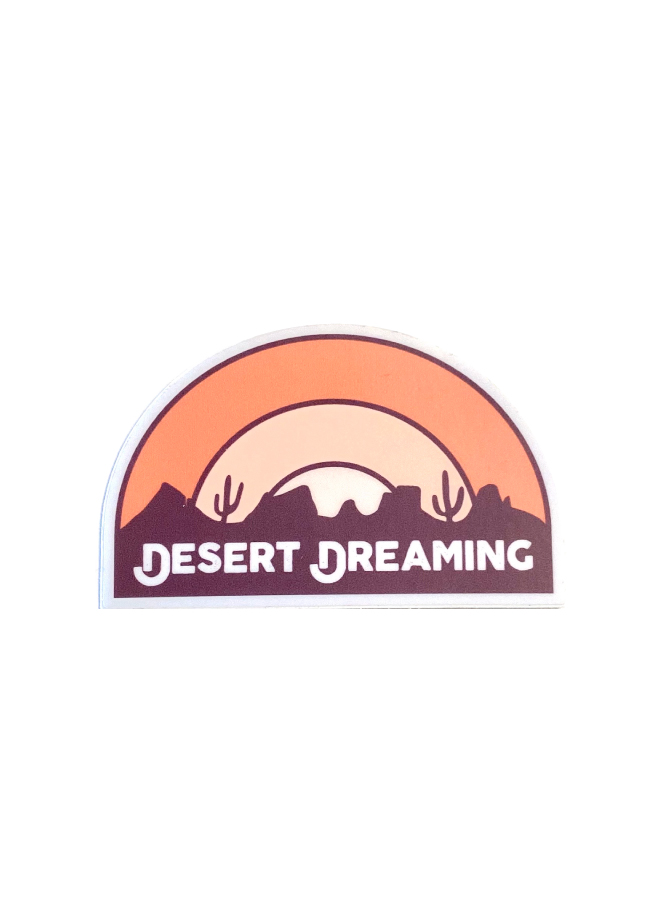 Desert Dreaming Sticker