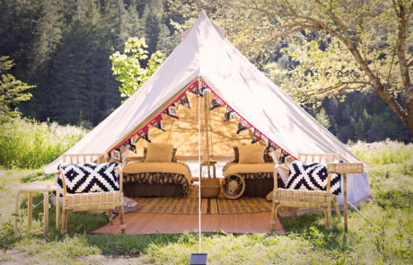 Wayward Glamping Website Design